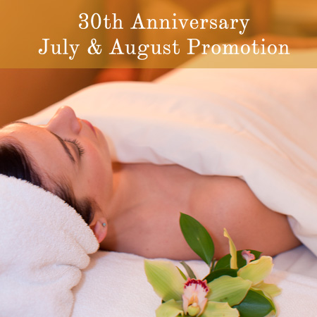 Spa 30th Anniversary Promotion