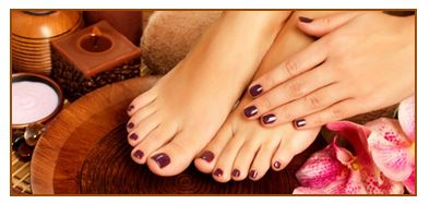 Spa Cinnamon Pedicure