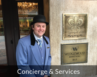 Wedgewood Hotel Concierge